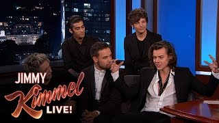 Скачать One Direction On Fans Royals Johnny Depp