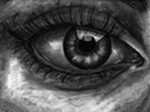 Realistic Human Eye Speed Drawing Youtube