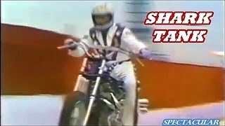 EVEL KNIEVEL jumps shark tank ULTRA RARE never televised