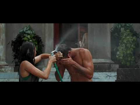 The Last Song - Movie Clip - Hosing Off - HD