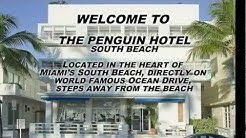 The Penguin Hotel in Miami