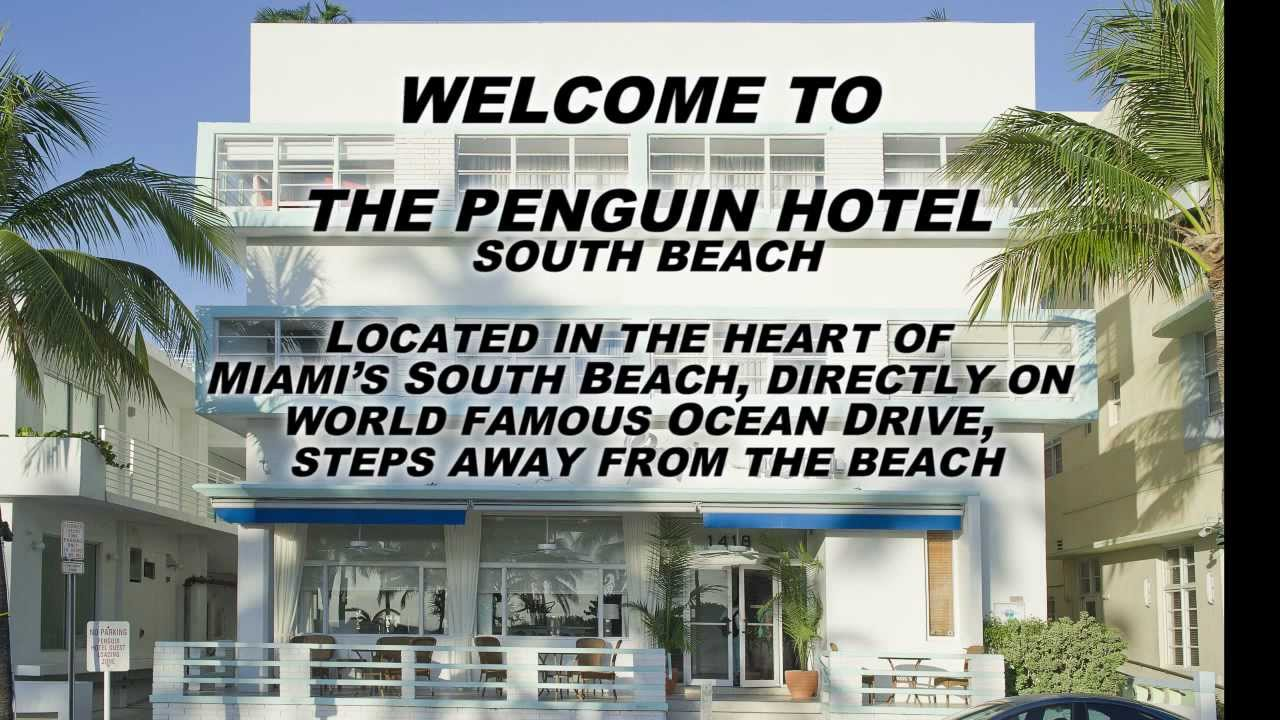 The Penguin Hotel In Miami You