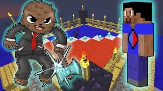 Minecraft: SMP HOW TO MINECRAFT S2 #6 'FIGHTING VIKKSTAR123' with JeromeASF