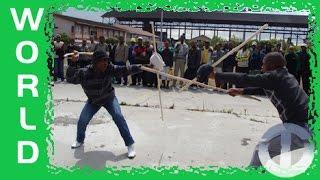 Nguni Stick Fighting - too violent for TV?