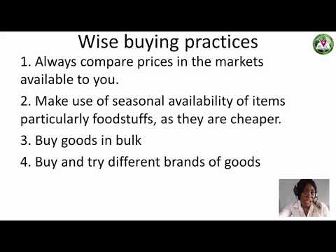 Download HOME ECONOMICS CHIDINMA FOOD PURCHASING