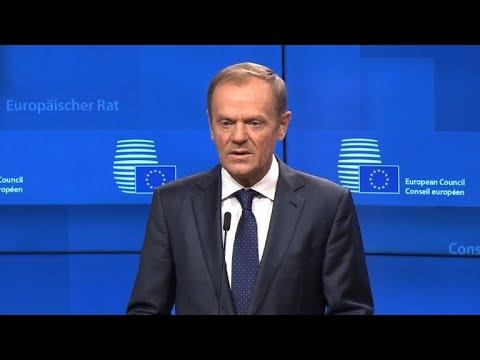 Tusk annonce un sommet le 25 novembre pour l\'accord de Brexit