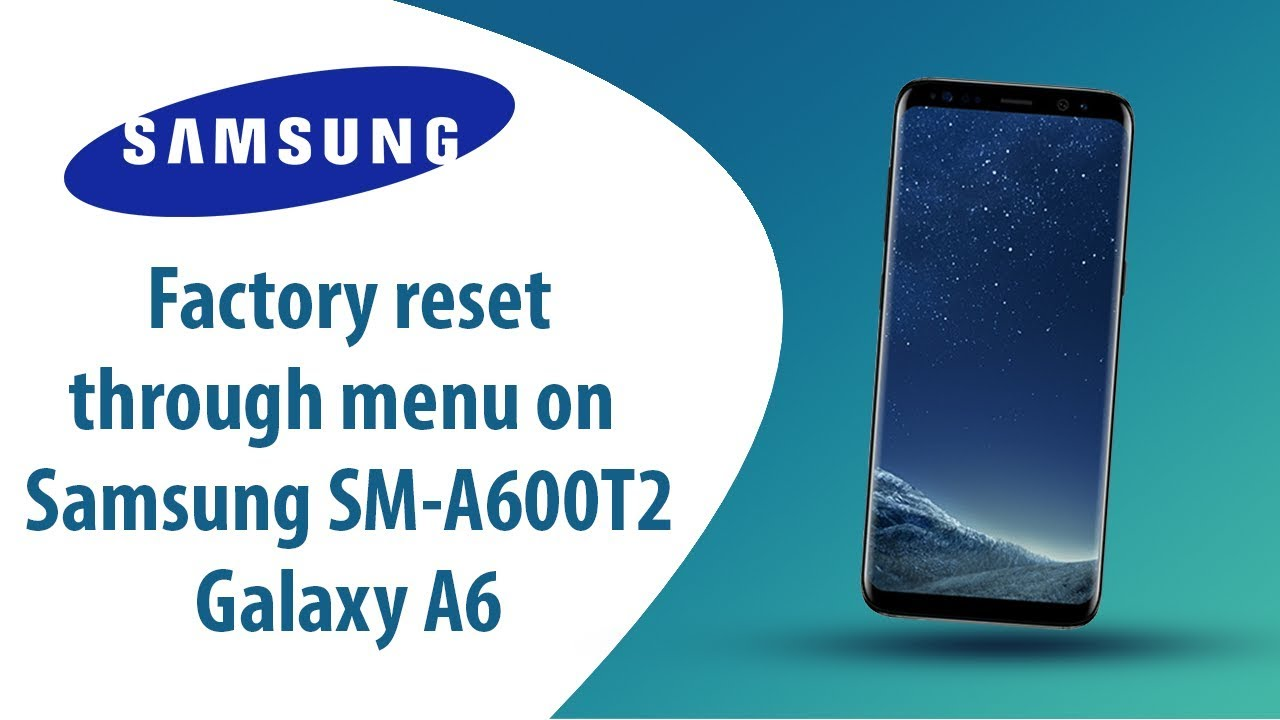 How to Hard/Factory Reset | Bypass screen lock on Samsung SM-A600F