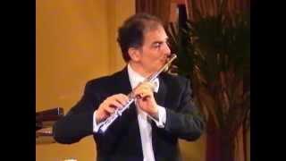 Eugène Bozza, Image-for flute alone - Claudio Barile