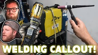 "CALLING OUT ""B IS FOR BUILD"" & ""TAYLOR RAY""! (WELDING CHALLENGE!)"