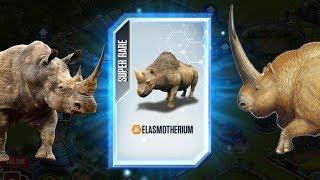 MỞ TRÚNG SUPER RARE TÊ Giác 1 Sừng | Jurassic World Công Viên Khủng Long