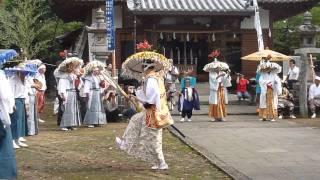 滝宮の念仏踊り