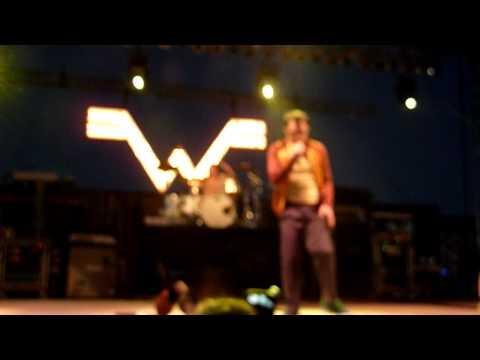 Weezer- Memories Live In HD Songs Debut (From New Album Hurley) @ Del Mar Race Track