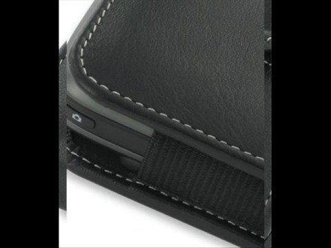 PDair Leather case for HTC P4350 - Vertical Pouch Type Black