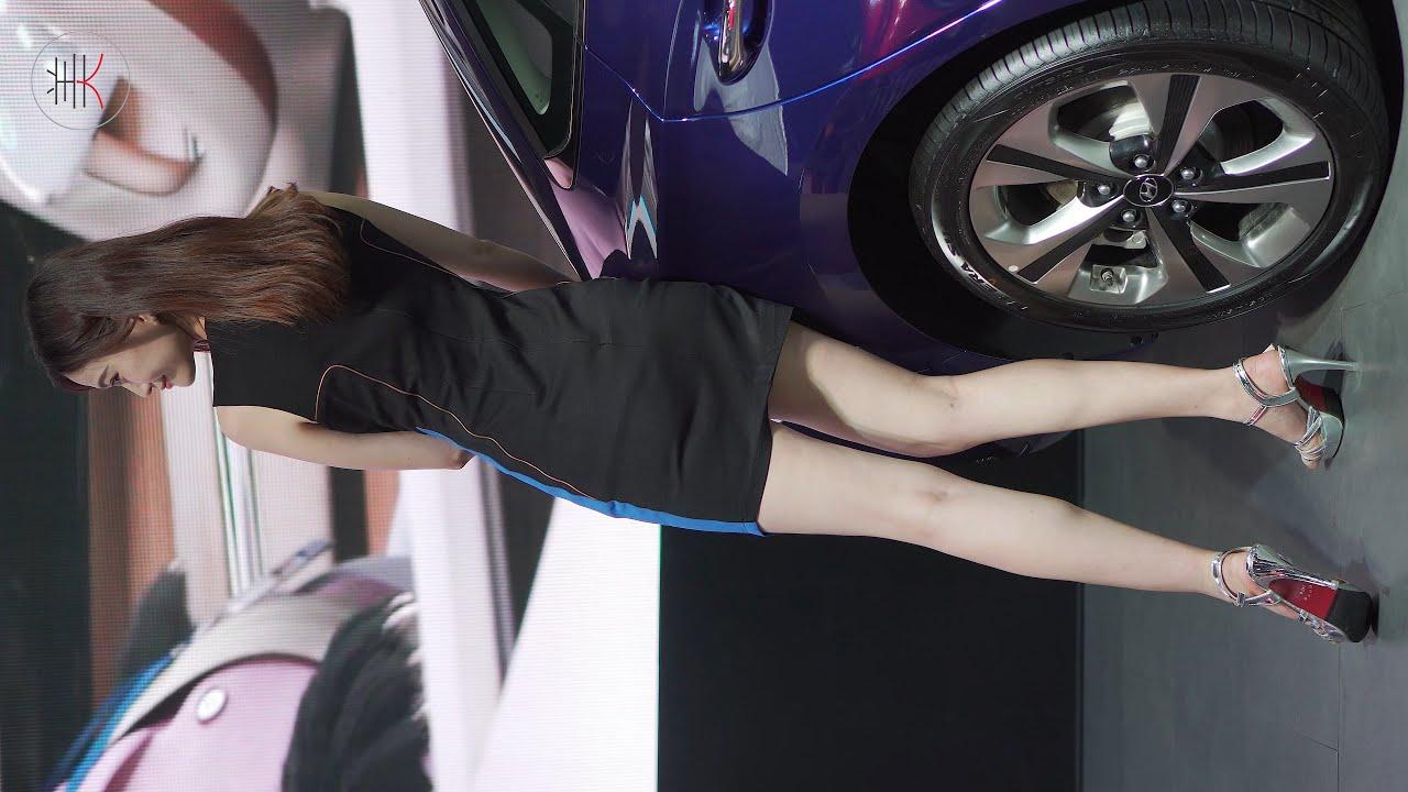 4K 2020東莞車展 레이싱모델 Racing Model HYUNDAI車模04