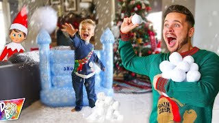 Indoor Snowball Fight Prank!