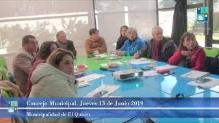 Concejo Municipal Jueves 13 de Junio 2019 - El Quisco
