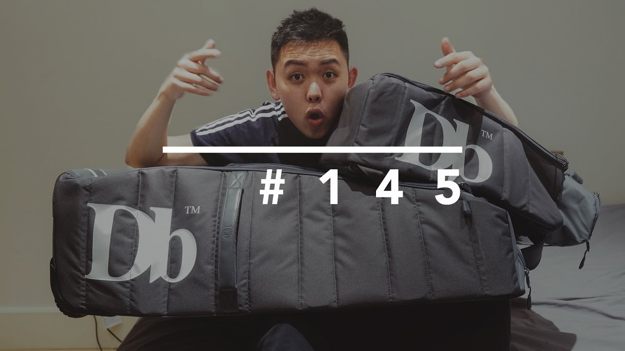 6512bfc99801 MY NEW LUGGAGE BAG    DOUCHEBAGS 90L TRAVEL BAG - YouTube