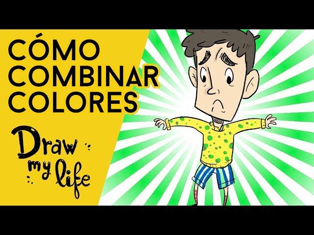GUÍA para VESTIR BIEN con COLORES - Draw My Life en Español