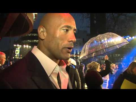 G.I. JOE Retaliation UK Premiere Newswrap with The Rock & Channing Tatum