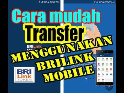 Cara mudah transfer menggunakan brilink mobile