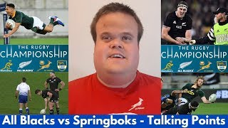 All Blacks vs Springboks Talking Points | The Rugby Championship 2019