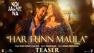 Har Funn Maula Teaser | Koi Jaane Na | Aamir Khan | Elli AvrRam | Vishal D | Tanishk B | Amitabh B