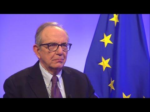 """Pier Carlo Padoan : """"La menace populiste est plus faible en Europe"""""""