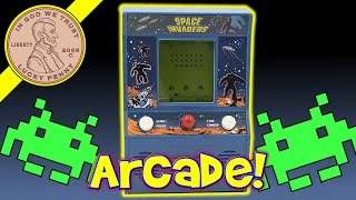 Space Invaders Arcade Classics Mini Arcade Game