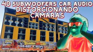 40 SUBWOOFERS CAR AUDIO QUE DISTORSIONAN LAS CÁMARAS DE VIDEO