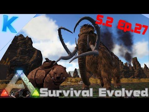 NL-Ark: Survival Evolved -S.2 Ep.27- R.I.P WINNIE! PERFECTE MAMMOET EN BEER!!
