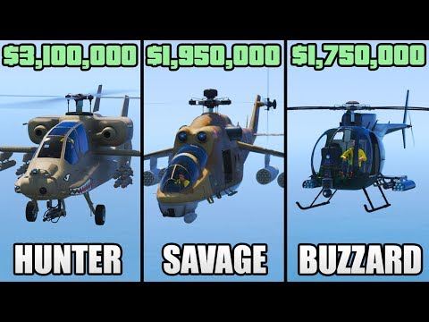 Which is the Best Attack Helicopter in GTA 5 Online?