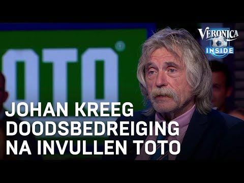 Johan kreeg doodsbedreiging na invullen Toto | VERONICA INSIDE RADIO