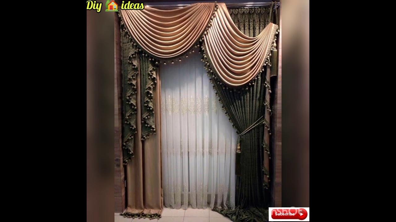 modern curtain designs trends 2021
