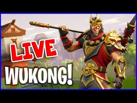 WUKONG is BACK!!! Fortnite Battle Royale :)