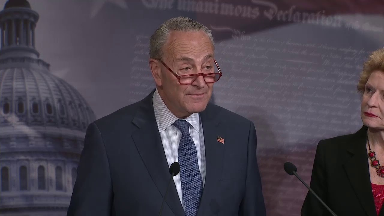COVER UP!: Chuck Schumer Believes There Is A DEEP President Trump COVER UP