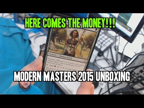 Box 1: Modern Masters 2015 Unboxing.
