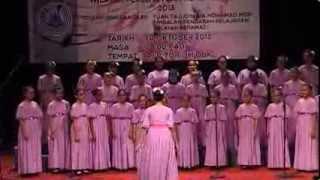 SK Convent (1) Bukit Nanas Choir Champion 2013