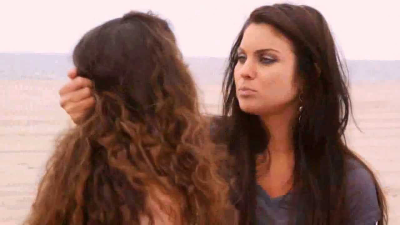 her hair pulling Lesbian
