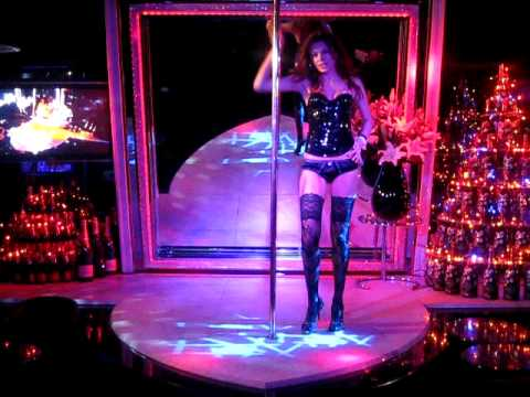 Strip pole dancing to happy song - 3 part 7