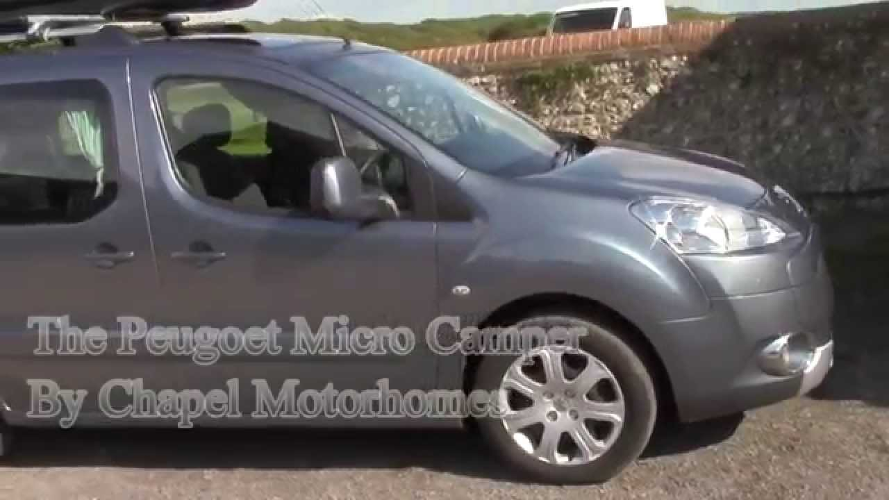 peugeot partner micro camper conversion youtube malvernweather Images