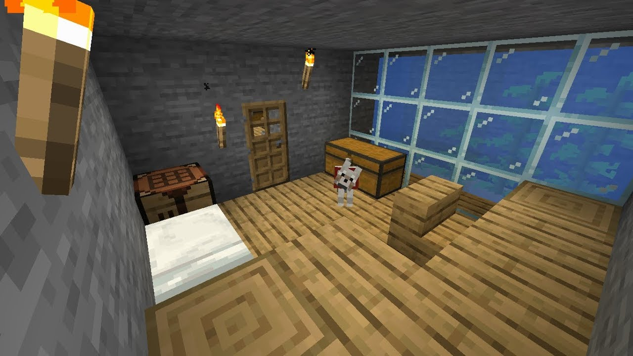 Minecraft 13 Sypialnia