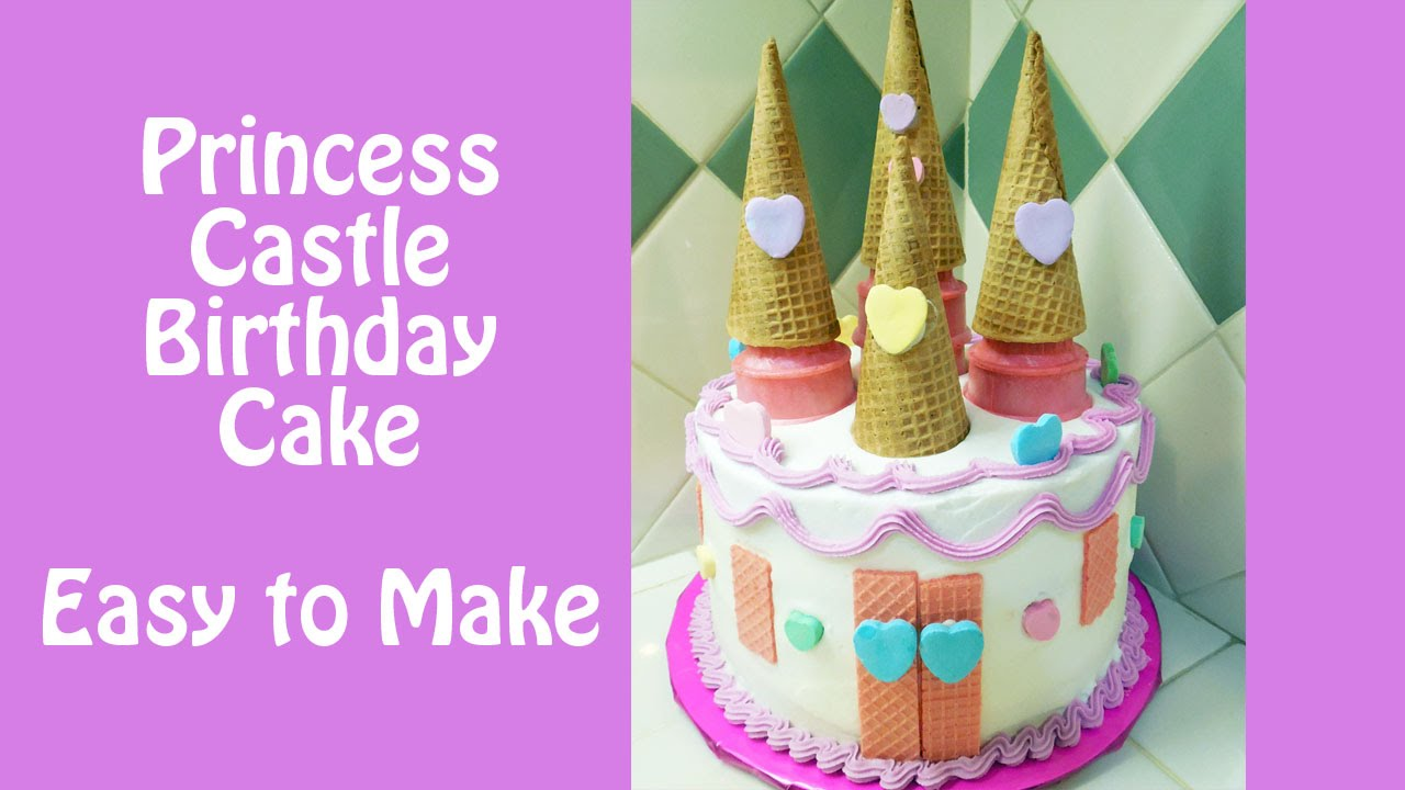 Make a Princess Castle Birthday Cake with Jill YouTube