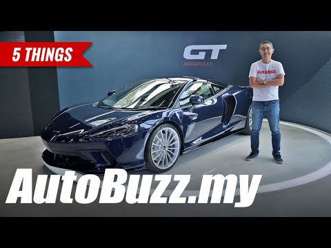 McLaren GT, 5 Things - AutoBuzz.my