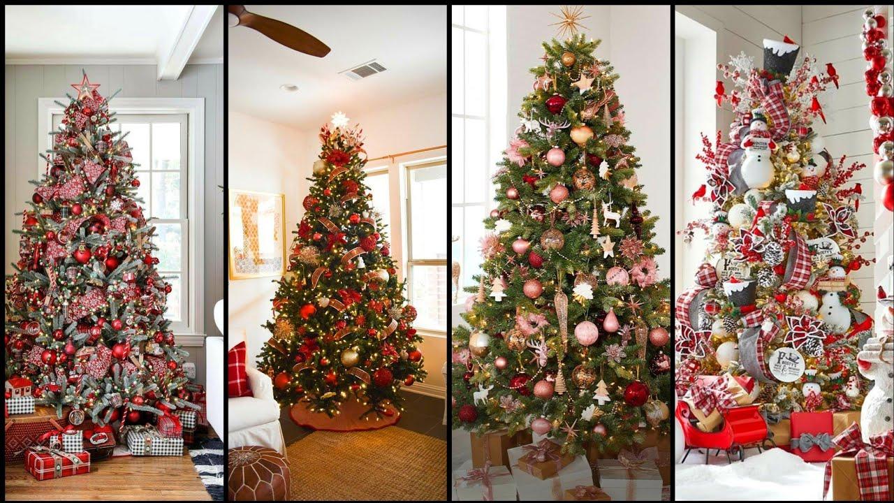 Wow Christmas 2021 Youtube Wow Most Easy 2021 Christmas Tree Decoration Ideas Amazing Elegant Diy Christmas Decoration Idea Youtube