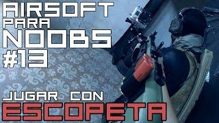 Airsoft para principiantes #13 | Jugando con escopeta Double Eagle M56| Capsule Airsoft España