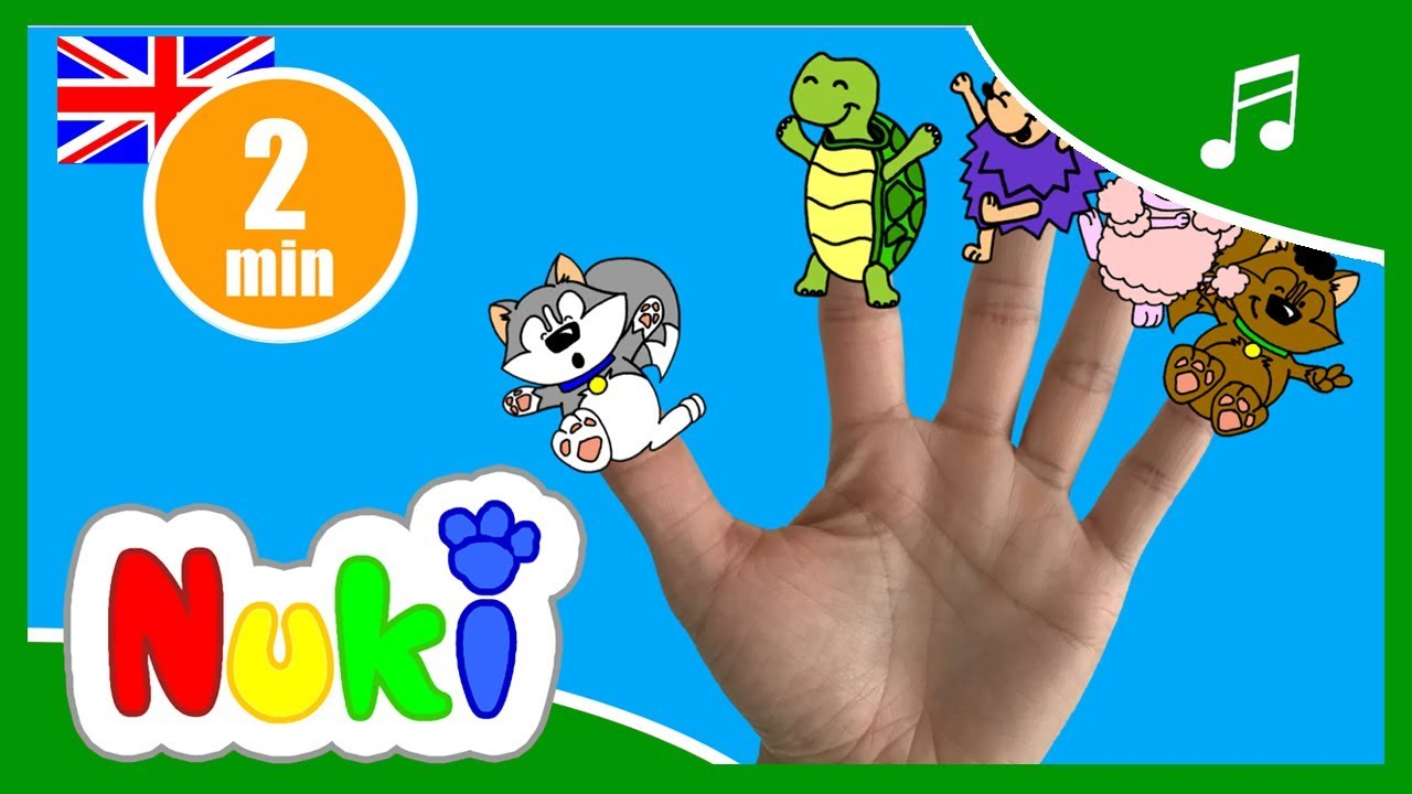 The Finger Family Song Nursery Rhymes And Kids Songs