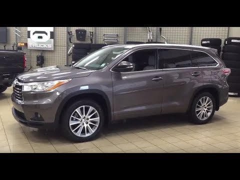 2014 Toyota Highlander Xle Review Youtube