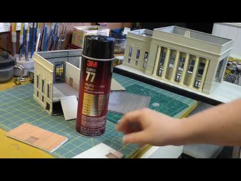 How to Build Walthers HO Scale Union Station Part 5