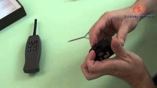 Rechargeable Remote Vibration & Shock Dog Training 1v1, 6 Levels Shock/35-01104-110