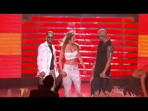 Wisin & Yandel ft. Jennifer Lopez - Follow the Leader @ American Idol